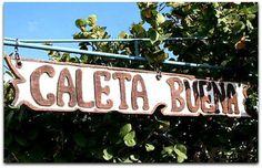 Caleta Buena Cuba, Neon Signs, Beach