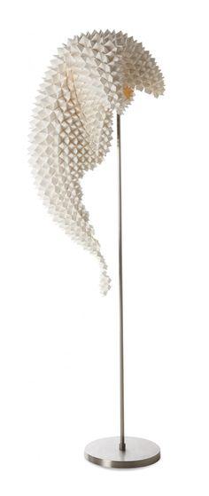 Artistic Lamp: Dragon's Tail Lamps by Luisa De Los Santos-Robinson