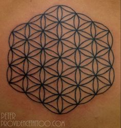 Flower of Life done by Peter #providencetattoo