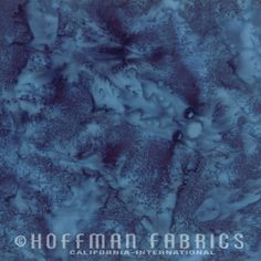 Hoffman Fabrics Batik Tonal Print 1895 Bali Watercolors December Blue Gray
