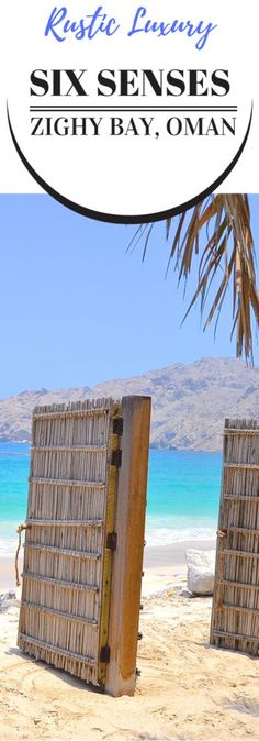 Looking for luxury in Oman? Six Senses Zighy Bay on the Musandam Peninsula is the answer.
