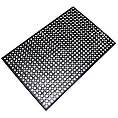 Buffalo Tools Indoor/Outdoor Durable Anti-Fatigue 36 in. x 60 in. Industrial Commercial Home Restaurant Bar Rubber Floor Mat in - The Home Depot Rubber Floor Mats, Rubber Mat, Rubber Flooring, Anti Fatigue, Cheap Stores, Garage Makeover, Wave Design, Hard Floor, Floor Rugs