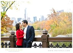 Priyanca Rao Photography- NYC Central Park Engagement session #engagement #Centralpark