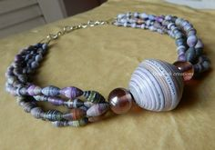 like the look of mixing smaller beads with one large bead