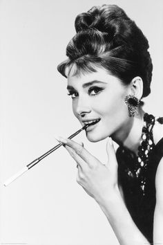 Audrey Hepburn. My absolute favorite.                              …