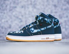 Nike Air Force 1   Acid Wash Denim Pack | Available