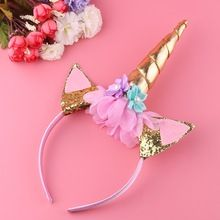 Quality Handmade Kids Party Gold Unicorn Headband Horn Gold Glittery Beautiful Headwear Hairband Hair Accessories Gold/Silver with free worldwide shipping on AliExpress Mobile Unicorn Horn Headband, Unicorn Hair, Unicorn Kids, Cute Unicorn, Unicorn Birthday, Unicorn Party, Magical Unicorn, Unicorn Fantasy, Silver Hair Accessories