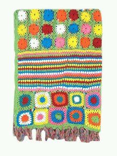 NEW BHS VINTAGE MARKET PATCHWORK CROCHET THROW BLANKET CHRISTMAS GIFT RRP £40 Vintage Market, Christmas Gifts, Marketing, Blanket, Inspired, Abstract, Crochet, Floral, Inspiration