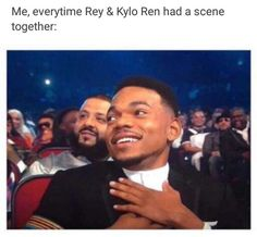 So true!! I️ believe that Ben is good and that he will turn to the light and Reylo will happen!