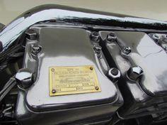 Engine detail: 1931 Duesenberg Cummins Diesel Special