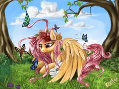 Fluttershy - is the best pony by DaffyDream on DeviantArt
