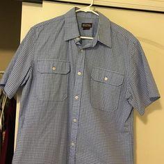 ⚡️flash sale!!!!! MK men's top Men's medium gently used Kors top. Michael Kors Tops Button Down Shirts