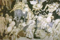 pisanello-il-ciclo-arturiano-dettaglio-con-scena-di-combattimento-fra-cavalieri-affresco-1440-ca-mantova-palazzo-ducale.jpg (800×535)