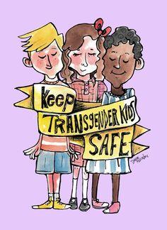 Damian Alexander - Keep Transgender Kids Safe