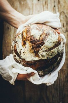 Homemade Bread - Breads and Doughs - Brot Think Food, Love Food, Bread Recipes, Cooking Recipes, Rustic Bread, Our Daily Bread, Artisan Bread, Kitchenaid, Bread Baking