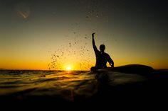 Golden hour joy - Casper Steinfath enjoys the last rays of sun in Peloponnese, Greece
