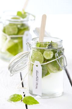 ✪ Wellness drink with Lime and Mint