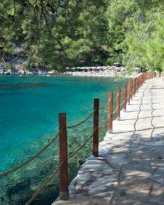 Hillside Beach Club  ( Fethiye, Turkey )  Near the ancient city of Fethiye, Hillside Beach Club sits on 30 acres around a horseshoe bay. #Jetsetter