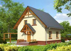 Casa cu buget redus cu o suprafata utila de numai Utila, Concept Home, Home Fashion, Outdoor Structures, Cabin, House Styles, Interior, Modern, Home Decor