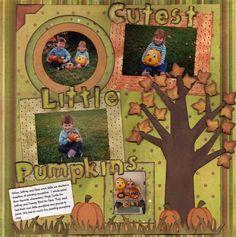 Cutest Little Pumpkins - Scrapjazz.com