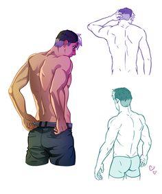 I really like Shiro. I really like backs. It just seemed to make sense??? *fans self*