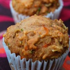Apple Muffins These whole wheat Carrot Apple Zucchini Muffins are full of veggies but you'd never know they're healthy!These whole wheat Carrot Apple Zucchini Muffins are full of veggies but you'd never know they're healthy! Apple Zucchini Muffins, Carrot Muffins, Mini Muffins, Gluten Free Stuffing, Stuffing Recipes, Healthy Muffin Recipes, Healthy Muffins, Healthy Drinks, Healthy Food