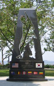 New York Korean War Veterans Memorial in Battery Park