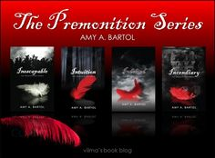 The Premonition Series by Amy A. Bartol  Need to read books 4&5, but the first 3 are amazing!!! About the 9 ranks of angels doing god's bidding on earth and the fallen and demons!