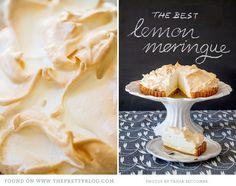 The BEST lemon meringue pie...