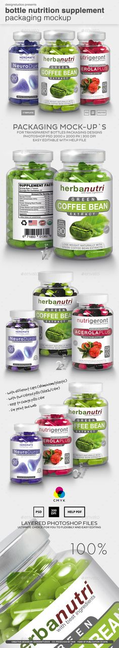 Bottle Nutrition Supplement Packaging Mock-Up. Download here: http://graphicriver.net/item/bottle-nutrition-supplement-packaging-mockup/15244282?ref=ksioks
