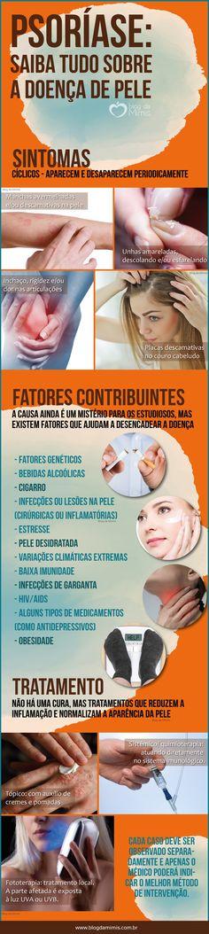 Psoríase: saiba tudo sobre essa doença de pele - Blog da Mimis #psoríase #pele #saúde #dicas #infográfico #blogdamimis