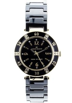 Anne Klein Ladies' Ceramic Watch In Brown & Rose Gold Anne Klein, Rolex Watches, Quartz, Rose Gold, Ceramics, Mineral Water, My Style, Brown, Metal