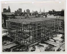 Beinecke Rare Book and Manuscript Library. Yale University. Architect Gordon Bunshaft, 1963-1964.