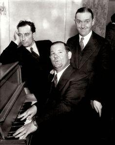 THREE FUNNY MEN - Buster Keaton, Stan Laurel & Oliver Hardy