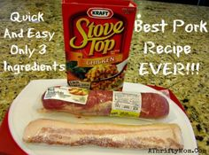 Bacon Wrapped Stuffed Pork Tenderloin ~ The best pork recipes EVER!!!