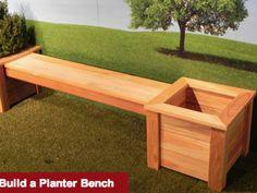 Build a Planter Bench