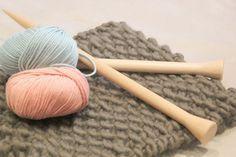 Todos los puntos básicos que debes conocer para tejer con lana