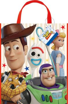 Toy Story 1st Birthday Party Supplies 8 Guest Decoration Kit with Woody Buzz Lightyear and Friends Balloon Bouquet