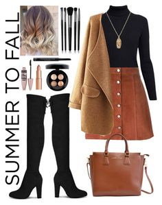 """""""Summer to Fall Layers: Contest Entry"""" by haybeebaby on Polyvore featuring Rumour London, Theory, Adrienne Vittadini, ASOS, Charlotte Tilbury, Illamasqua, Maybelline, Christian Dior and MAC Cosmetics"""