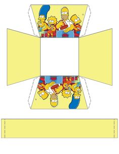 The Simpsons Basket .... free to use and free to share for personal use. <3