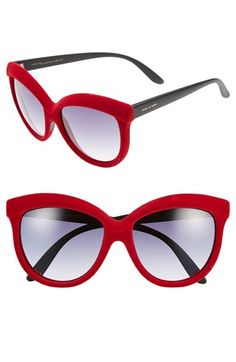 Italia Independent 58mm Butterfly Sunglasses