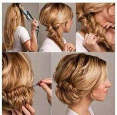 13 Best Winter Ball Images On Pinterest Curls Braid And Curly