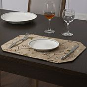 Set Of 4 Traditional Patterned Placemats – AUD $ 24.25
