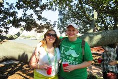 St. Patrick's Day in Savannah |