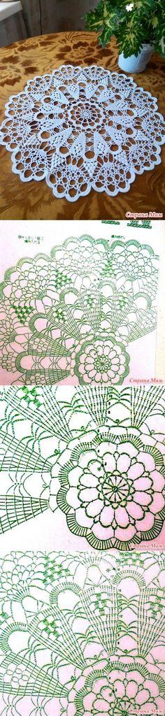 (knitting by a hook) - the Country of Mothers // VALENTINA CERGUTSA Crochet Boots Pattern, Crochet Snowflake Pattern, Crochet Motif, Crochet Patterns, Crochet Coaster, Dress Patterns, Crochet Symbols, Crochet Dollies, Filet Crochet Charts
