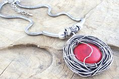 Beautiful Chunky Red Stone Necklace......Available at www.b-scenejewellery.com
