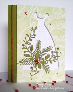 Thu 13 Dressing for the Holidays Beaded Dress, Christmas Cursive Memory, Blissful Bundle, Party Time, Studio Rectangle Layers