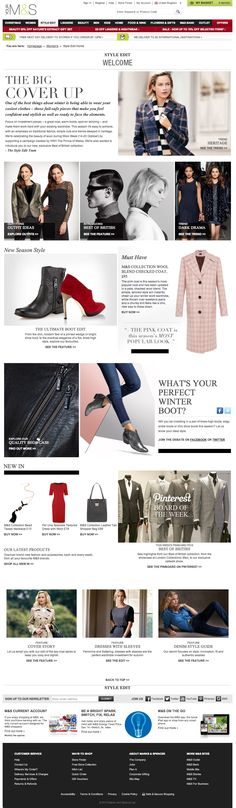 Marks & Spencers - Style Edit