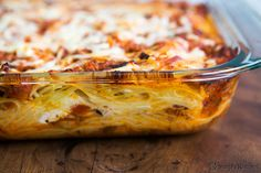 Baked Spaghetti Recipe | Simply Recipes