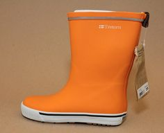 Copious: Tretorn Skerry Orange Rain Boots